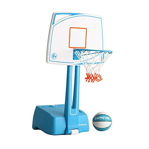 Harvil Poolside Basketball Hoop with Smart Backboard Storage