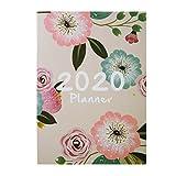 Agenda diaria personal 2020 – Organizador semanal y mensual para hombres y mujeres Notebook planificador organizador A4 agenda mensual Kawaii