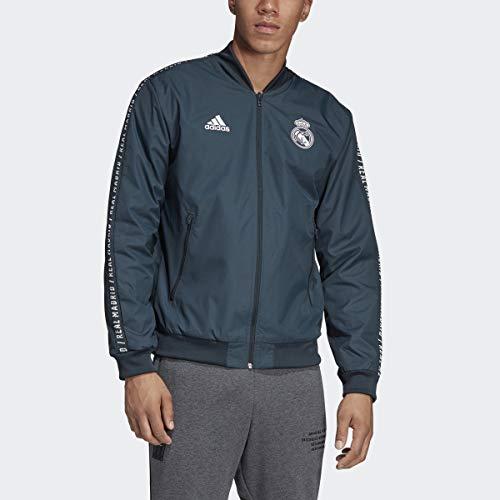 adidas Real Madrid Anthem Jacket (X-Large)
