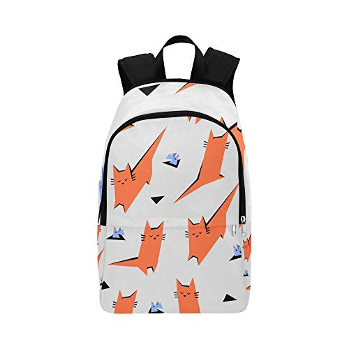 Limiejo Sport Bag for Men Cute Smart Warm Heart Animal Pet Cat Durable Water Resistant Classic College Duffel Bag Messenger Backpack Best Backpack Beach Backpack