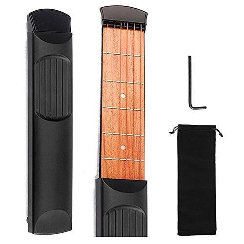 ACC Pocket Gitaar Chord Trainer Draagbare gitaar Praktisch gereedschap voor principe Chord Coaches Mini 6 Fret Gitaar Finger Memory Trainer