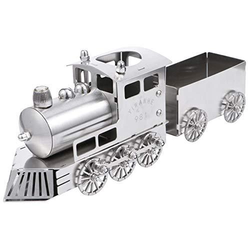 WINOMO 1 Satz Metall Lokomotive 3D Metall Modell Kit Retro Tisch Schreibtisch Zug Modell Kinder Geburtstagsgeschenke