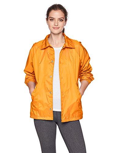 Augusta Sportswear Men's Nylon Coach's Jacket/Lined, Gold, Small