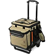 Arctic Zone Titan Deep Freeze 60 (50+10) Can Collapsible Rolling Cooler with All-Terrain Cart