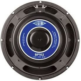 Eminence Legend BP102 10 Inch Bass Amplifier Speaker 200 Watts - (8 Ohm)
