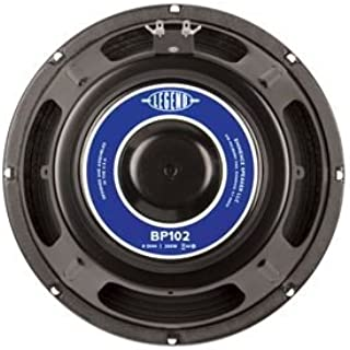 Eminence Legend BP102 10 Inch Bass Amplifier Speaker 200 Watts - (8 Ohm)