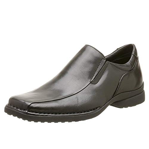 Kenneth Cole REACTION Men's Punchual Slip On,Black,10.5 M