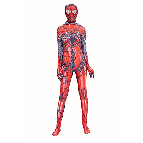 Nuitab Disfraz de Superhéroe Gwen Spiderman Niño Adulto Gwen Venom Traje de Hombre Araña,...
