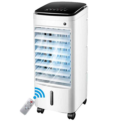 AC-Cooling Refroidissement Unités L Luftfter climatiseur domestique humidificateur à air climatisé mobile climatiseur à refroidissement par eau (Color : White)