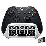 BestFire 47 tasti Wireless 2.4 G pratico mini tastiera portatile di set scritta Gamepad tastiera chatpad...