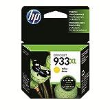 HP 933XL CN056AE, Amarillo, Cartucho de Tinta de Alta Capacidad Original, compatible con impresoras de inyección de tinta HP OfficeJet 6100, 6600, 6700, 7110, 7510, 7610 y 7612