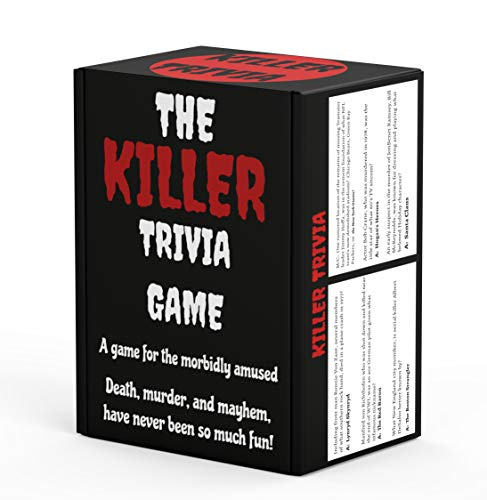 Killer Trivia Game  The Best Murder Mystery Party Game