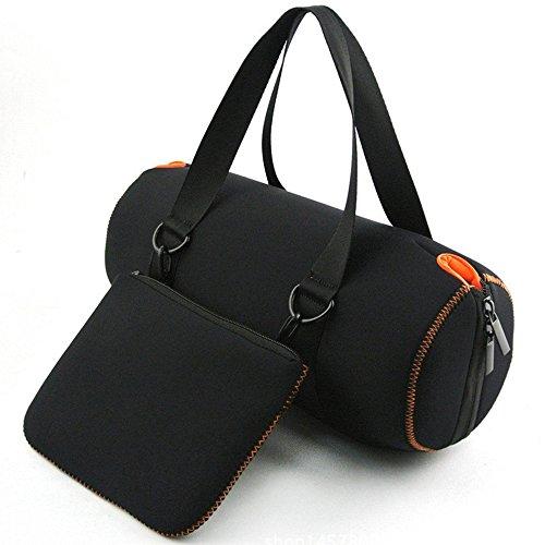PushingBest Reisetasche Schutzhülle für JBL Xtreme Bluetooth Lautsprecher, extra Tasche Passend für Plug & Kabel