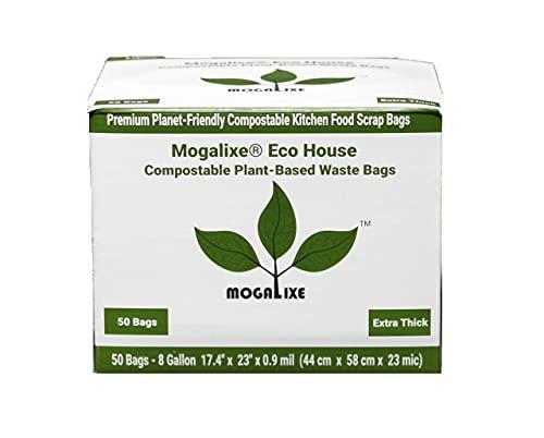 MOGALIXE 100% Compostable Trash Bags