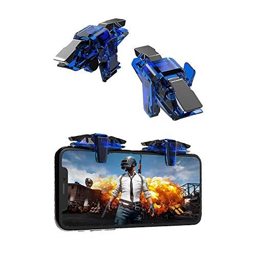 odestro® ThanosX7 PUBG Mobile Game Controller,Phone Game Triggers Upgrade Gamepad Joystick Sensitive Click Shoot Aim ButtonsL1R1 for PUBG/Knives Out/Rules of Survival for All Phone (Pack of 1 Pair)