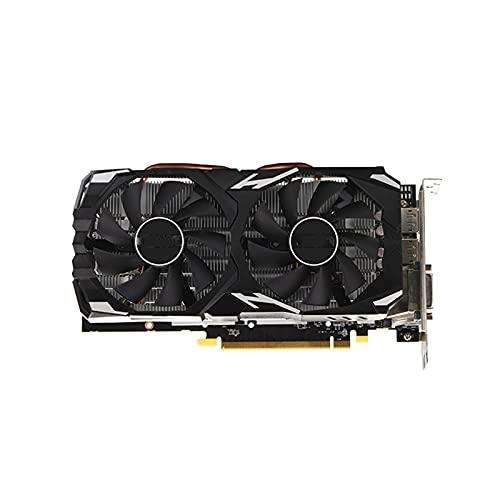 MPGIO RX 580 8GB AMD Radeon RX580 8GB 2304SP Tarjetas de Pantalla de Video GPU Computadora de Escritorio Juego Mapa Tarjeta de Video