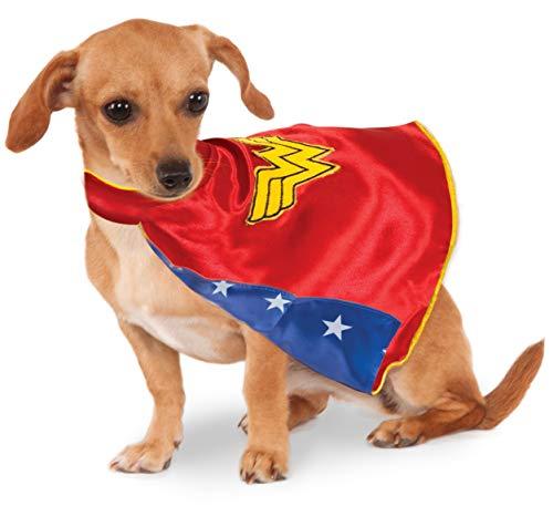 DC Comics Wonder Woman Pet Cape, Medium