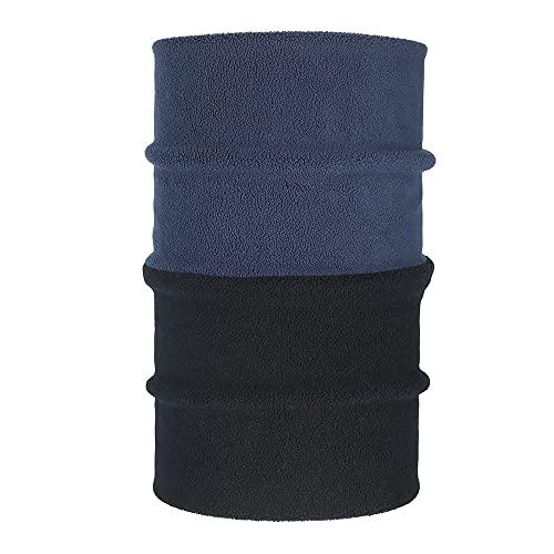 Muka Bufanda multifuncional para el cuello, pasamontañas, 30 cm de largo x 10 cm de ancho