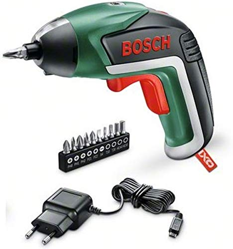 Preisvergleich Produktbild Bosch Home and Garden 06039A800M Akkuschrauber IXO mit Spielzeugschrauber IXOlino,  USB-Ladegerät,  10 Bits,  Karton,  3, 6 V,  1, 5 Ah,  5 W,  3 V,  2 Stück