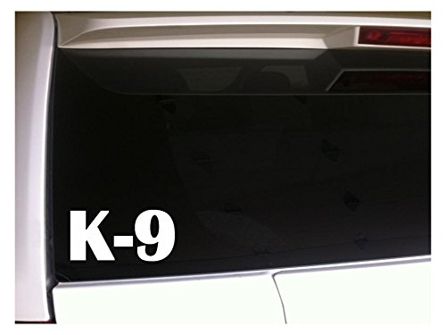 K-9 6' Vinyl Sticker Car DecalJ55 Pets Animals Adoption Rescue Shelter Dogs Puppies Funny Laptop