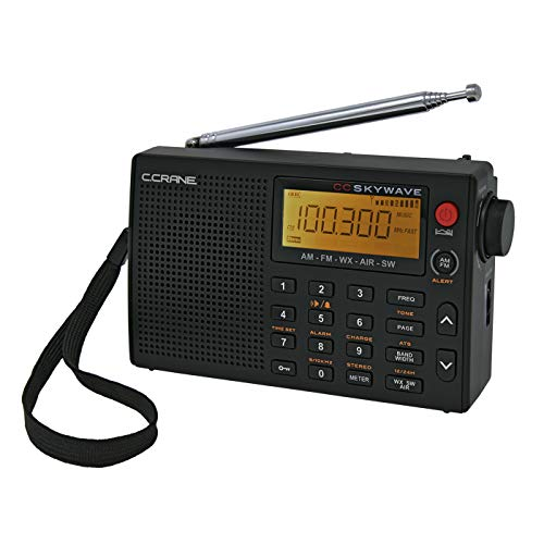 C Crane AM, FM, Shortwave, Weather and Airband Radio