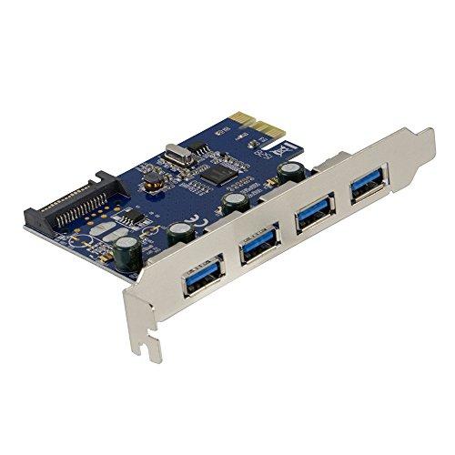 オウルテック USB3.0増設ボード 外部USB3.0×4ポート増設 PCI Express 1xインターフェースボード 1年保証 OW...