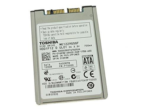 Y693M – Dell Latitude XT2 1,8 Zoll 120 GB Toshiba SATA-Festplatte – Y693M