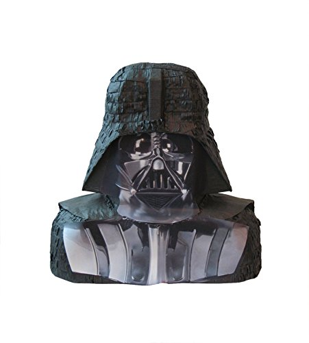 Unique Party Supplies Pinata Darth Vader Star Wars mexikanisches Kinderspiel Kinderpartyspiel Geburtstagsdeko