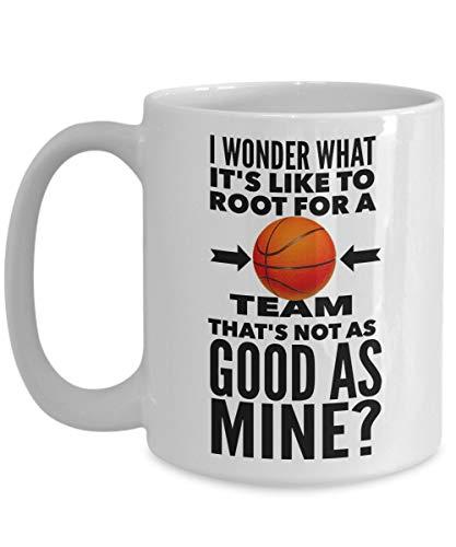 Basketball-Tasse - nicht so gut wie meine - große Basketball-Keramik-Kaffeetasse - Geburtstags-Jubiläums-Weihnachtsgeschenk Strumpf Stuffer- Basketball-Spieler Freund Trainer Freund Freundin Bruder Sc