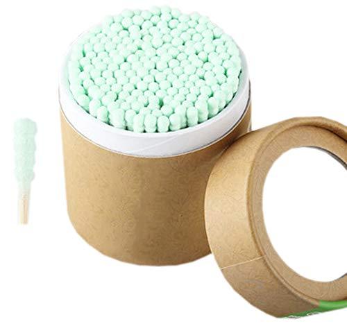 Cotons-tiges de sécurité 200 pièces Coton-tige à double pointe Bâtons de nettoyage polyvalents #14
