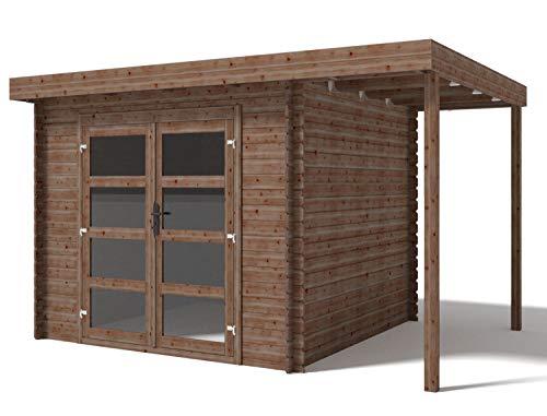 Casa jardín prefabricada