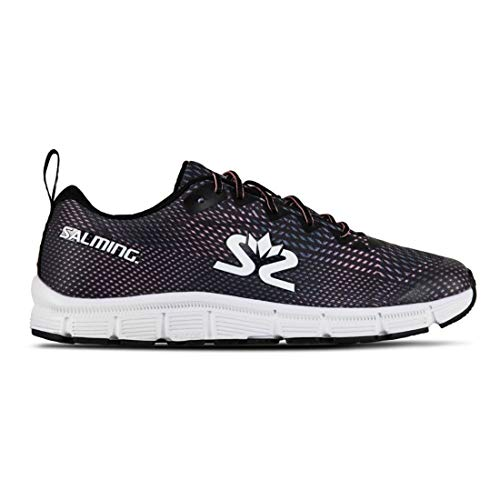Salming Miles Lite Womens Running Shoes - Black-5