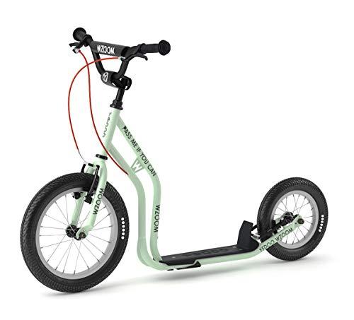 Yedoo Scooter Tretroller Wzoom New 16/12 Zoll Mint | V-Brake Felgenbremsen Lenker verstellbar Alter 6+