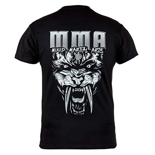 Rule Out Camiseta Prenda de luchaMMA. Mezclados Marcial Artes Tigre Gi