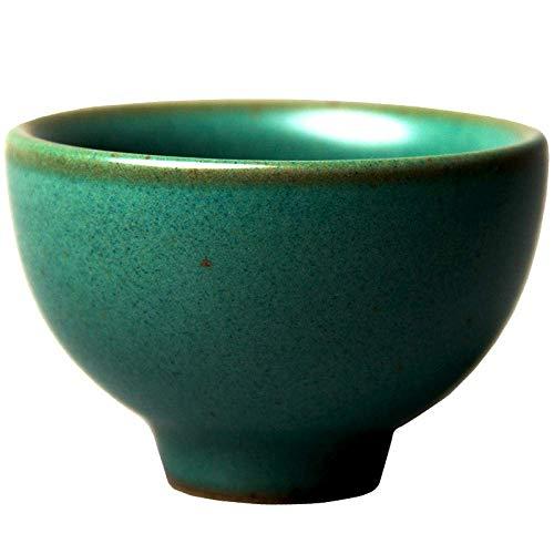 ZEH Cerámica de gres Taza de la Prueba del Juego de té Hecho a Mano Retro Bosquejo de la Taza Japonesa Antigua del Kung Fu Taza de té de la Taza Individual FACAI