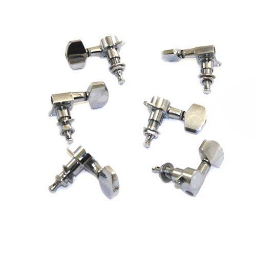6 Stück Gitarre Mechanik Wirbel Tuner Turning Pegs Gitarren Mechaniken Metall