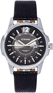 Curren Analog Watch for Men, Brown