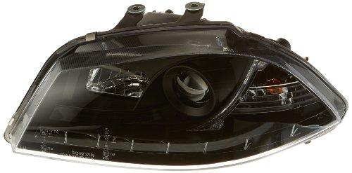FK Automotive FKFSSE010003 Daylight Scheinwerfer passend für Seat Ibiza (Typ 6L) Bj. 03-08 schwarz