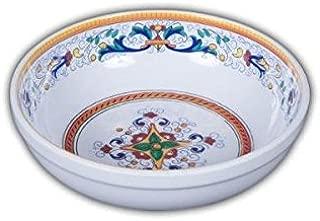 Italian Inspired Melamine Picnic Ricco Individual Bowl