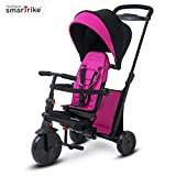 smarTrike- Tricycle évolutif Pliant smarTfold 500, 505-0200, Rosa