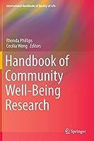 Handbook of Community Well-Being Research (International Handbooks of Quality-of-Life)