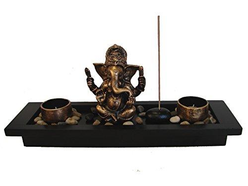 Feng Shui Import Zen Garden with Ganesh Statue