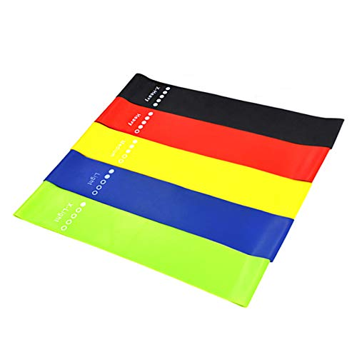 Sivvderi Resistance Loop Exercise Bands, Fitness Loop Bands for Legs and Butt, Stretching, Strength Training, Physical Therapy,Pilates Yoga,Crossfit, Natural Latex Elastic Workout Bands