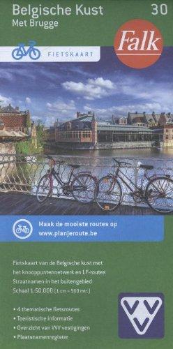Belgische kust met Brugge
