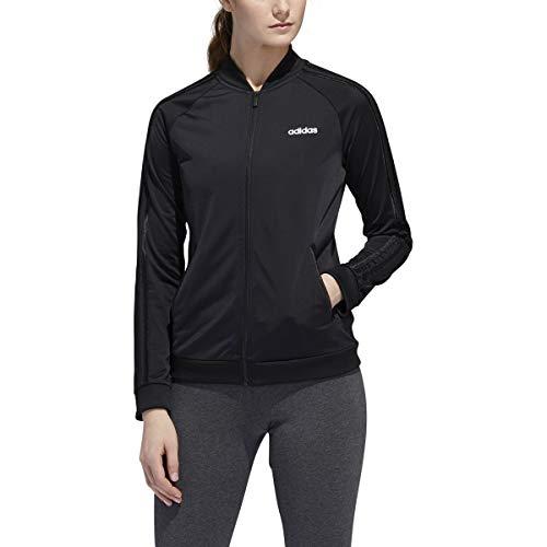 adidas Women's Dazzle Track Jacket (Black/Black, Medium)