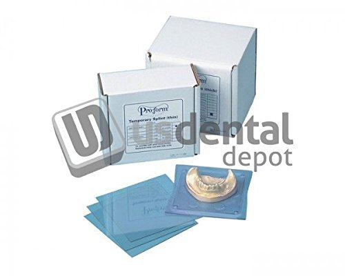 KEYSTONE - Splint Material - .030in - ( 0.8mm ) - 50 pk - ( K# 9614810 700105 Us Dental Depot