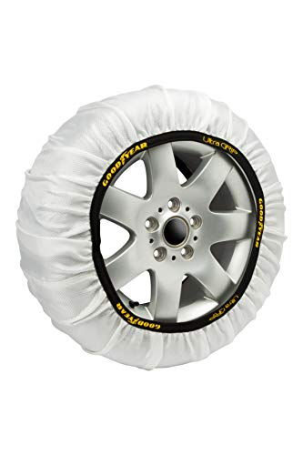 Goodyear GOD8016 Textil Schneeketten Ultra Grip Größe XXL, 2er Set, Set of 2