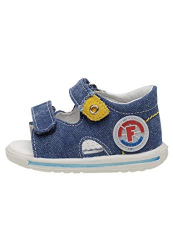Falcotto NEMO-Sandale aus Denim-Jeans blau 26
