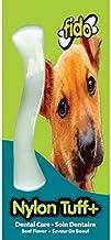 "product image for Fido Nylon Tuff Plus Dental Dog Bone, Beef Flavored, Small 4-3/8"""