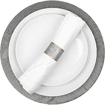 chargers for table settings